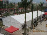 Grandes barracas ao ar livre do turismo e do lazer