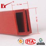 Strisce a temperatura elevata della guarnizione del silicone del bordo del portello del forno di figura di E