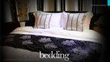 Комплекты 100% постельных принадлежностей гостиницы хлопка обыкновенные толком белые