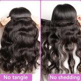 волосы 100% бирманца девственницы дешево Unprocessed бирманской объемной волны человеческих волос 8A волнистые
