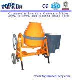 Bene mobile caldo del macchinario di costruzione di vendite una betoniera da 350 litri