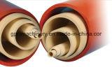 Linha de produção gêmea da tubulação do PVC do parafuso com preço