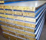 屋根のための音によって絶縁される耐火性の鋼鉄岩綿のパネル