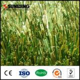 gramado artificial verde ao ar livre material do futebol do PE de 50mm para o campo de ação