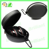 Rechteckiges Leather Carrying Headphone Fall für Protection (HC-2041)