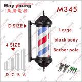 Fabrik-Zubehör ABS Karosserien-Cer Roating Beleuchtung-Herrenfriseur Pole