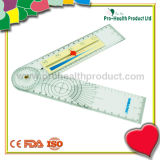 Medizinisches Plastikgoniometer mit Schmerz-Tabellierprogramm
