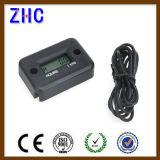 De waterdichte IP68 Digitale LCD Meter van het Uur van de Motor van de Vertoning 12V