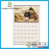Kalender de van uitstekende kwaliteit van de Douane met de Druk van het Embleem