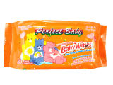 80PCS Baby Wipe Manufaktur Alchol Free Wet Wipe mit Plastic Bag
