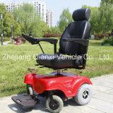 Disably와 Elderly People (XFG-105FL)를 위한 옥외 위 Leather Electric Power Wheelchair