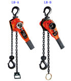 0.5 tonnellate Manual Chain Hoist Lever Block per Material Lifting