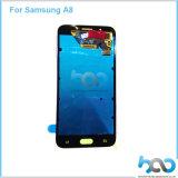 De Vervanging LCD van het Scherm van de aanraking voor LCD van de Melkweg van Samsung A8 Vertoning