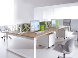 Einfache Einfach-Saubere klassische hölzerne Büro-Zelle-Arbeitsplatz-Tabelle (SZ-WS301)