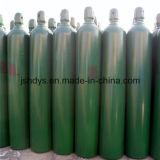 Cilindro do cilindro de gás CNG do CO2 do hélio do argônio do hidrogênio do oxigênio do aço sem emenda (GB5099)