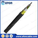 cable óptico ADSS de la fibra autosuficiente aérea del palmo del 120m