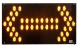 Super Bright LED Seta Warning Traffic Light Sign