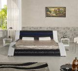 A516 Romantische LEIDEN van de Grootte van de Koning van het Ontwerp van het Meubilair Bed