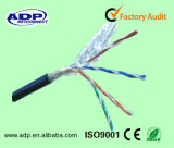 FTP Cat5e 옥외 케이블 PVC+PE