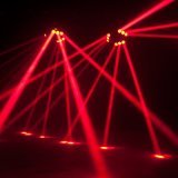 свет луча спайдера головки СИД полного цвета 9PCS 12W RGBW Moving