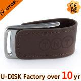 卸売の昇進のギフトの革USBのフラッシュ(YT-5116-01L2)