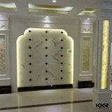 Superfície contínua translúcida real para a decoração da parede
