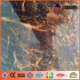Ideabond 1220*2440mm Granit-und Marmor-Steinbeschaffenheits-dekorative zusammengesetzte Aluminiumpanels