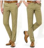 Pantalones calientes del tipo de tela de algodón de la venta del Mens
