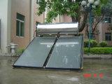 Chauffe-eau solaire à panneau plat de pipe de canalisation verticale d'ailette d'Aiuminum