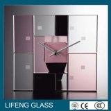 Aangemaakt Glas voor de Klok van de Muur van het Glas
