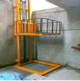 Tabela de elevador mecânica hidráulica elétrica do trilho de guia em China