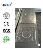 チェック模様かチェック模様および円形デザイン鋼鉄ドアの皮(RA-C010)
