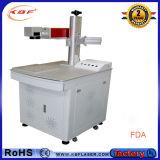 Gravador de laser de fibra de mesa para ferro