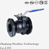 1PC Edelstahl Flanged Floating Ball Valve