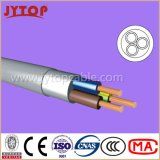 Câbles NVV (NYM) PVC isolé multi-Core avec Cuivre