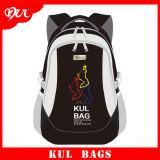 (KL1507) Sac de hausse noir fait sur commande, sac à dos de sport en plein air, sac respectueux de l'environnement de sport
