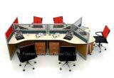 Verdeling van het Bureau van het Aluminium van het Werkstation van de Prijs van de fabriek de Moderne (HF-YZ053)