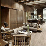 (SD-6005-2T) Sofà di legno del tessuto dell'hotel del ristorante della mobilia moderna del salone