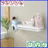 Mensola del supporto del carrello dell'acquazzone della tazza di aspirazione degli accessori della stanza da bagno