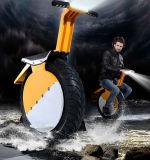 """Um """"trotinette"""" de equilíbrio elétrico do skate do Unicycle da roda"""