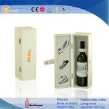 Doos de van uitstekende kwaliteit van de Gift van de Carrier van de Wijn van het Leer van de Luxe van de Douane