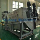 Volute沈積物の排水の出版物機械