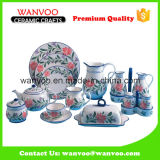 Inzameling van het Vaatwerk van het Vaatwerk van China de Ceramische Decoratieve Vastgestelde
