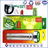 懐中電燈のための色刷のペーパー包装ボックス