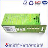 Коробки печати цвета бумажные упаковывая для электрофонаря