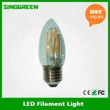 Nuova 360 candela del filamento della candela E27 LED del filamento di grado 4W LED