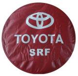 Крышка запасного колеса крышки автошины логоса материала PVC высокого качества всеобщая изготовленный на заказ
