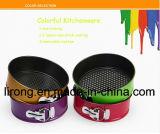 20-28cmの炭素鋼のテフロン焦げ付き防止のコーティングのSpringform鍋Bakeware