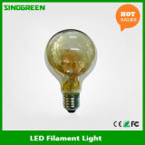 Cer EMC LVD RoHS 6W G80 Filament LED Bulb LED-Christmas Light