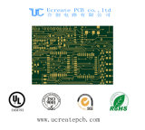 녹색 땜납 가면을%s 가진 다중층 안전 CCTV 인쇄 회로 기판